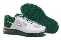 Mens Air Max 2013 Trainer 1.3 White Green