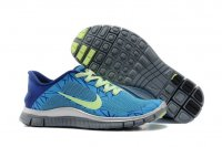 Womens Nike Free 4.0 V3 Blue Green