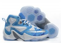 lebron 13 blue and white