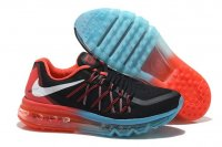 Mens Air Max 2015 Black Red