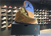 "air jordan 5 retro ""wheat-colored"""