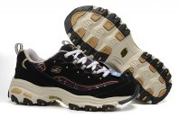 Women's Skechers D'lites - Me Time Gold Grey Black