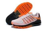 Mens Air Max 2015 Light Grey Orange