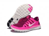 Womens Nike Free 5.0 V2 Pink Red