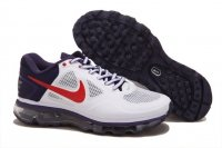 Mens Air Max 2013 Trainer 1.3 White Purple