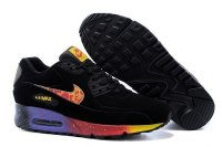 Womens Air Max 90 Black/Red/Gold