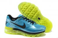 Mens Air Max 2013 Trainer 1.3 Blue Green