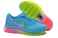 Womens Nike Air Max 2014 Sky Blue Green
