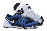 Mens Nike Free 3.0 V3 Blue Black