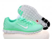 Womens Nike Free 5.0 Green White