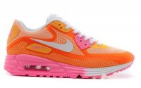 Womens Air Max 90 Lunar C3.0 Orange/Pink/White