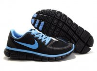 Womens Nike Free 5.0 V4 Black Blue