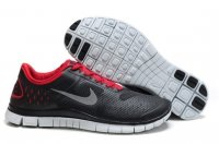 Womens Nike Free 4.0 Black Red