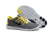 Mens Nike Free 5.0 V2 Grey Yellow