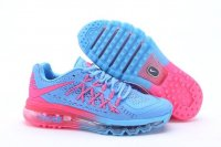 Womens Air Max 2015 Pink Blue