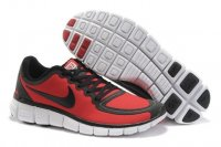 Mens Nike Free Run 5.0 Black Red 2012 V5 Men Shoes