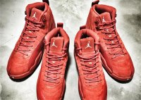 "air jordan 12 retro ""red suede"""