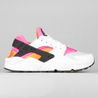 Nike Wmns Air Huarache Run White Total Orange Pink Pow