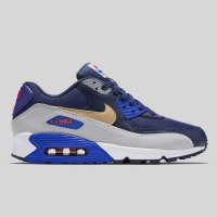 Nike Air Max 90 Essential Midnight Navy Metallic Gold