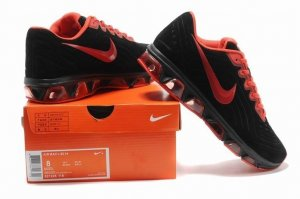 Mens Air Max 2015 Fur Black Red