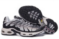 Mens Nike Air Max TN Black White Silver