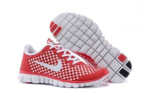 Mens Nike Free 3.0 V2 Red White