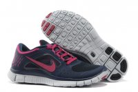 Womens Nike Free Run+ 3 Black Pink
