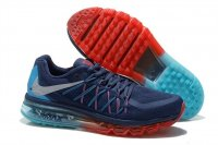 Womens Air Max 2015 Dark Blue Red