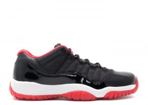 "air jordan 11 retro low bg (gs) ""bred"""