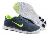 Mens Nike Free 4.0 V3 Grey Green