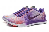 Womens Nike Free TR Fit Purple White