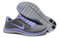 Womens Nike Free 3.0 V4 Grey Purple