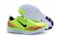 Womens Nike Free 5.0 V4 Black Yellow