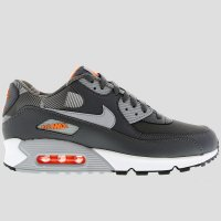 Nike Air Max 90 Print Dark Grey White Total Orange
