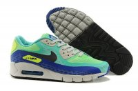 Mens Air Max 90 Breathe Rio Crystal Mint/Black/Hyper Cobalt