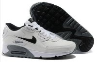Mens Air Max 90 Essential Leather White/Black