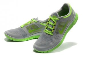 Mens Nike Free 5.0 V3 Grey Green