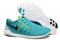Mens Nike Free 5.0 Grey Green