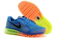 Mens Nike Air Max 2014 Blue Orange
