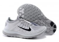Womens Nike Free 4.0 Flyknit Grey Black