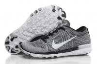 Womens Nike Free 5.0 Flyknit Black Grey