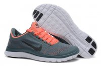 Womens Nike Free 3.0 V5 Grey Orange