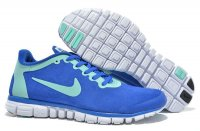 Mens Nike Free 3.0 Wool Skin Blue Green