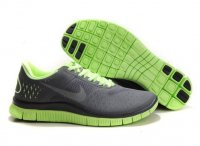 Mens Nike Free 4.0 V2 Grey Green