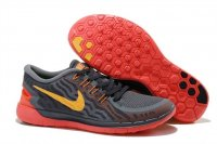 Womens Nike Free 5.0 Red Grey