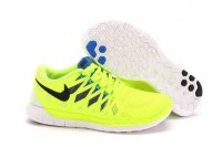 Womens Nike Free 5.0 Green Black