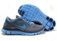 Womens Nike Free 3.0 Grey Blue