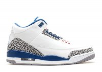 "air jordan 3 retro ""true blue 2011 release"""