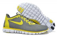 Mens Nike Free 3.0 Wool Skin Grey Yellow