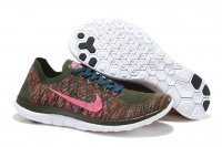 Mens Nike Free 4.0 Flyknit Brown Red